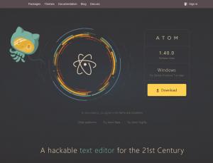 テキストエディタ「Atom」